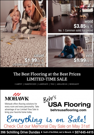 The Best Flooring at the Best Prices LIMITED-TIME SALE
