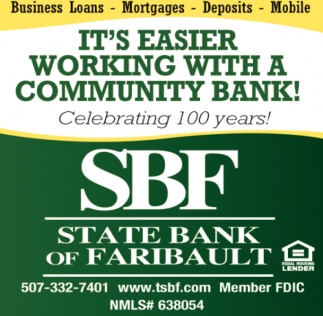 It's easier working with a community bank!