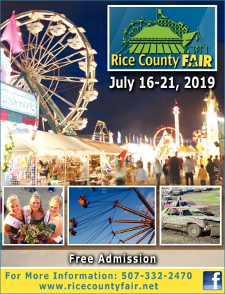 Fair July 16-21 2019 - Free Admision