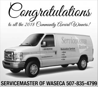 Congratulations all the 2018 Community Award Winners!