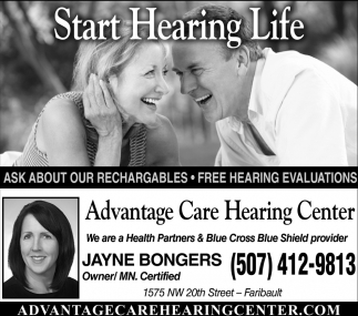 Start Hearing Life