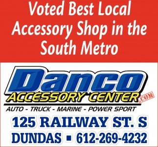 Voted Best Local Accesory Shop in the South Metro