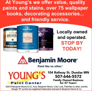 Locally owned and operated. Stop by Today!