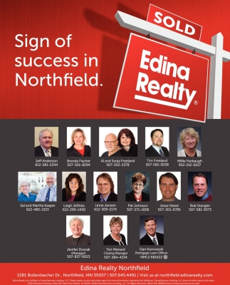 Sign of success in Northfield