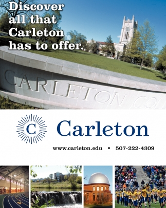 Discover all that Carleton has to offer