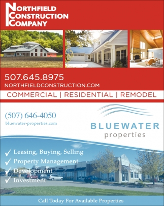 Commercial, Residential, Remodel, Northfield Construction Company, Northfield, MN