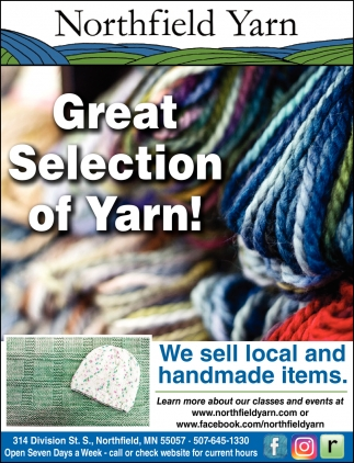 Grat Selection of Yarn!