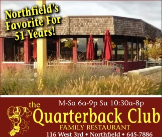 Northfield's Favorite For 51 years!