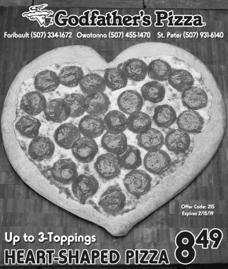 Heart-Shapped Pizza