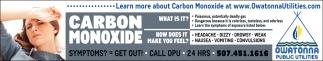 Carbon Monoxide... What is it?