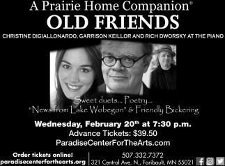 A Prairie Home Companion - Old Friends