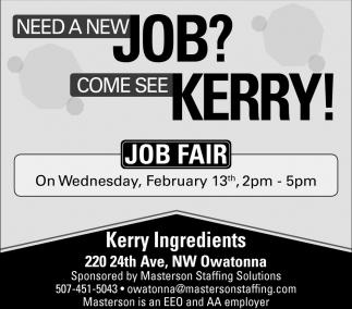 Job Fair - February 13th