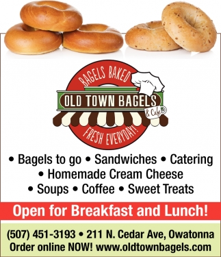 Bagels, Sandwiches, Catering, Cream Cheese