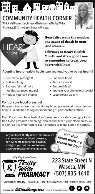 Community Health Corner - Hearth month