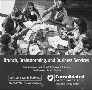Brunch, Brainstorming, and Business Services, Consolidated Communications, Edina, MN