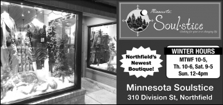 Northfield's Newest Boutique!
