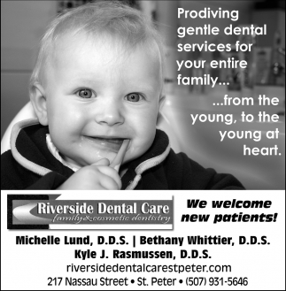 Providing gentle dental services for your entire family...