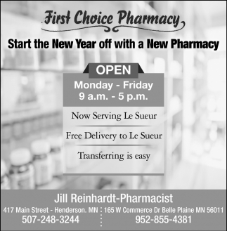 Start The New Year Off With A New Pharmacy