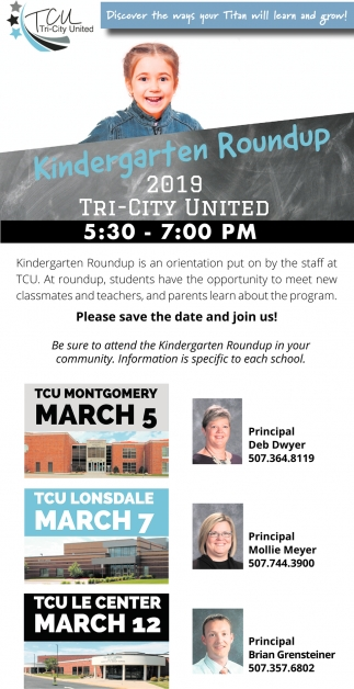 Kindergarten Roundup, Kindergarten Roundup 2019 Try-City United
