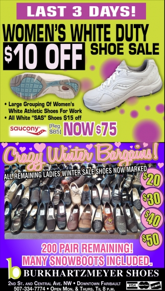 Last 3 days! Shoe Sale
