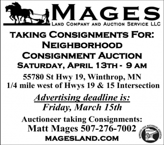 Neighborhood Consignment Auction