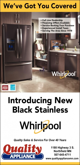 Introducing New Black Stainless