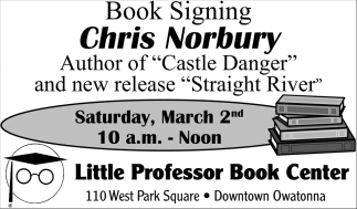 Book Signing Chris Nobury