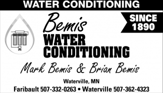 Water Conditioning