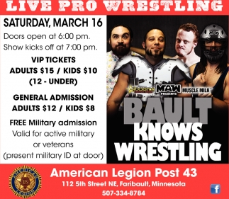 Live Pro Wrestling - March 16