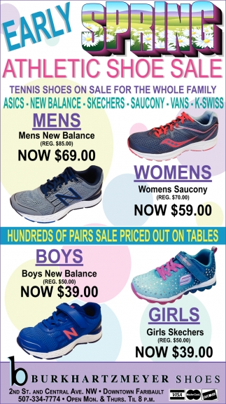 Early Spring Athletic Shoe Sale