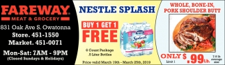 Nestle Splash -Buy 1 Get 1 Free