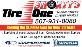 Serving all major brands of tires