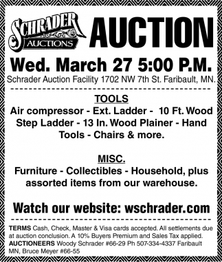 Auction March 27