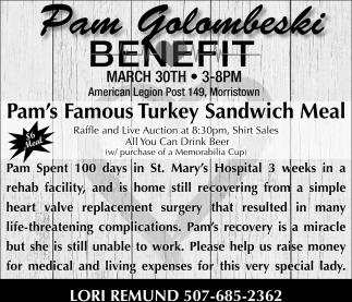 Benefit Pam Golombeski