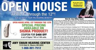 Open House, April 1st