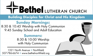 Building Disciples for Christ and His Kingdom