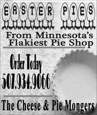 Easter Pies from Minnesota's Flakiest Pie Shop