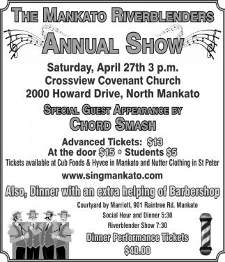 Annual Show - April 27th