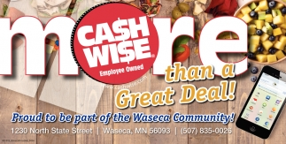Proud to be part of the Waseca Community!
