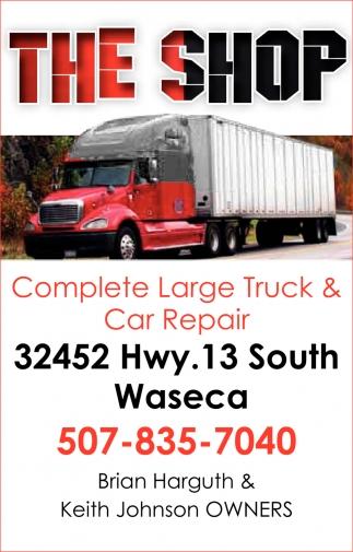 Complete Large Truck & Car Repair