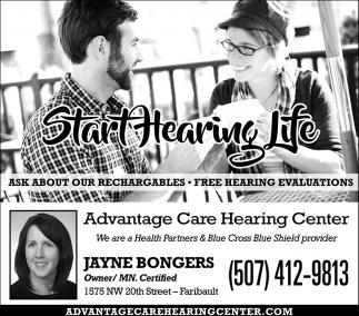 Jayne Bongers, Owner, Mn. Certified