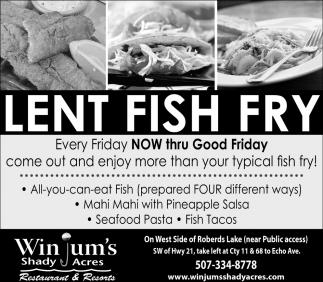 Lent - Fish  - Fry