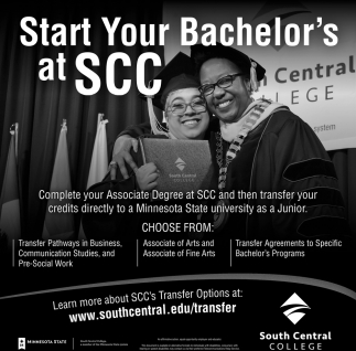 Start Your Bachelor's at SCC