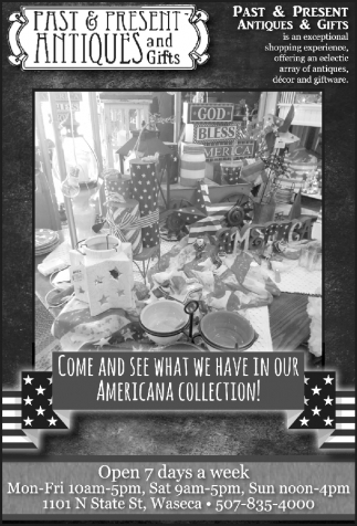 COME AND SEE WHAT HAVE IN OUR AMERICANA COLLECTION!