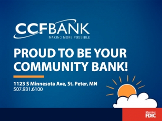 Proud to be your community bank!