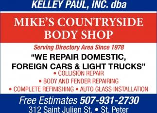 We repair domestic, foreign cars & light trucks