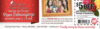 Flower Shoppe invites you to our Prom Extravaganza