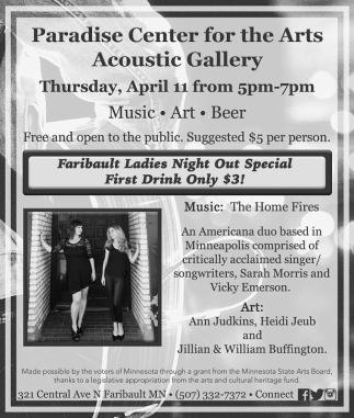 Faribault Ladies Night Out Special