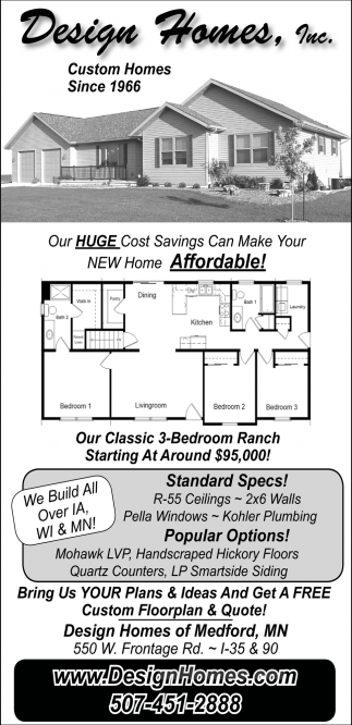 Our Huge Cost Savings Can Make You New Home Affordable!