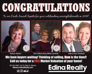 Congratulations to our Circle Award Agents